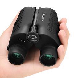 OMZER 12x25 Compact Folding Binoculars High Powered Lightwei