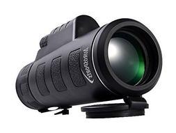 Aurosports Compact Size 35x50 High-powered Wide-angle Monocu