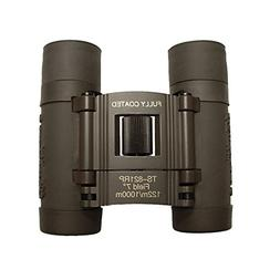 Galileo 8x21mm Compact Roof Prism Binoculars - Grey
