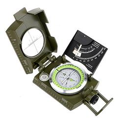 ARCHEER Multifunctional Metal Compass Military Army Aluminum