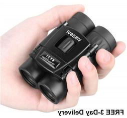 Concert Binoculars Compact Field Glasses Mini Twin Pocket Sc
