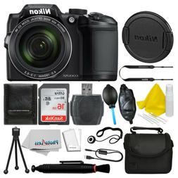 Nikon COOLPIX B500 Digital Camera  Bundle with Top Value Acc