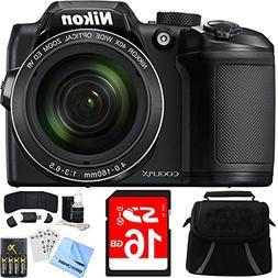 Nikon COOLPIX B500 40x Optical Zoom Digital Camera 16GB Bund