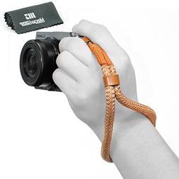 MegaGear Cotton Camera Hand Wrist Strap - Comfort Padding, S