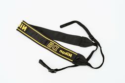 Nikon D5 Camera Strap for DSLR AN-DC15 Black Yellow OEM Orig