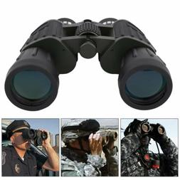 Day 60x50 Military Army Zoom Powerful Binoculars Optics Hunt