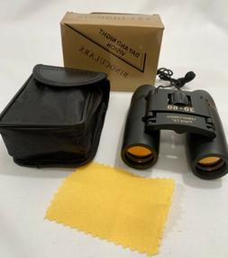 Day and Night Foldable Binoculars 30x60 zoom Outdoor, Travel