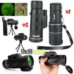 Day & Night Vision 40X60 High Power Zoom Optical Monocular T