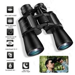 Day/Low Night Vision 180x100 Zoom Outdoor HD Binoculars Hunt