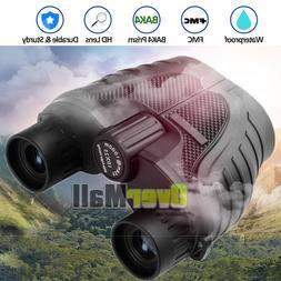 Day/Night 10x25 BAK4 Military Zoom Powerful Binoculars Optic