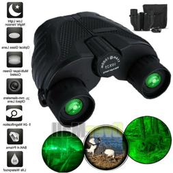 Day/Night 10x25 Military Zoom Powerful Binoculars Optics Hun