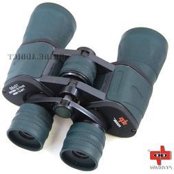 Day/Night 10X60 Military Zoom Binoculars Hunting Camouflage