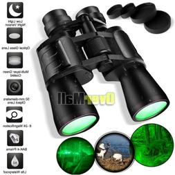 Day/Night 180x100 Military Army Zoom Powerful Binoculars Opt