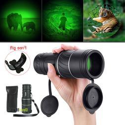 Day Night 40X60 HD Hunting Monocular Powerful BAK-4 Hiking C