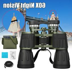 Day/Night 60x50 Military Army Zoom Powerful HD Binoculars Op