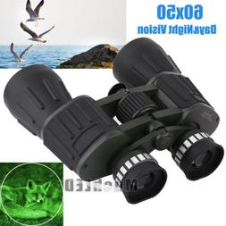 Day/Night 60x50 Military Army Zoom Powerful Binoculars Optic