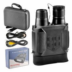 Day / Night Military Binoculars NV400B Infrared IR 7x31 400M