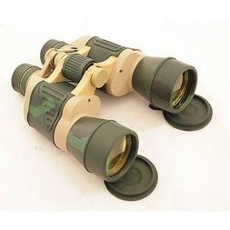 Day/Night 20X50 Ruby COATED Lens Camo Binoculars w/Pouch by