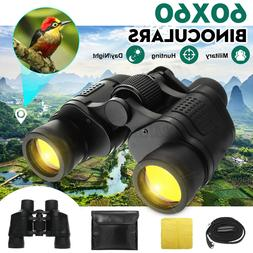 Day/Night Telescope 60x60 Military Army Zoom Ultra HD Binocu