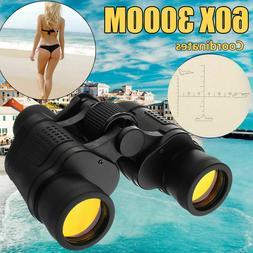 Day/Night Telescope 60x60 Military Army Zoom Ultra HD Binocu