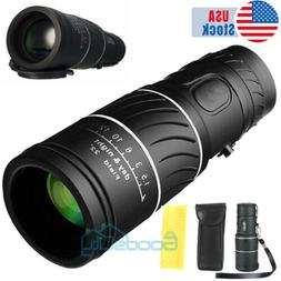 Day/Night Vision 40x60 Zoom HD Monocular Starscope Monocular