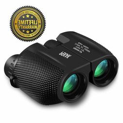 Day Night Vision Small Binoculars 10 x 25 Zoom Outdoor Trave