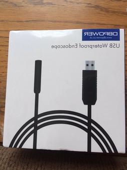 DBPOWER USB Waterproof  Endoscope
