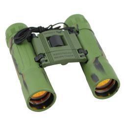 NcStar 10X25 DCF Camo Binoculars/Ruby Lens