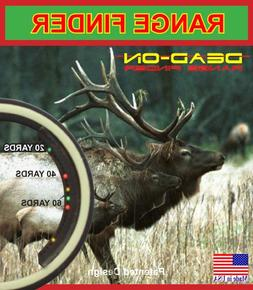 Dead - On Range Finder Bow Hunting Range Finder