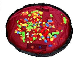 MONOTELE Large 60 Inches Diameter Baby Kids Play Floor Mat T