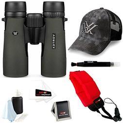 Vortex Diamondback 8x42 Binocular + Foam Float Strap + Acces