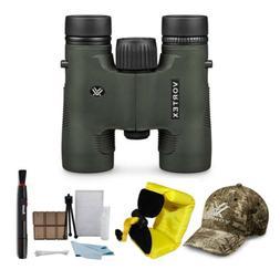 Vortex DiamondBack 8x28 Binocular + Vortex Hat + Float Strap