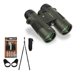 Diamondback 8x42 Binocular with Field Optics Birders Bundle
