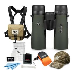 Vortex Diamondback 8x42mm Binoculars   + Glasspak Harness Bu