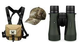 Vortex Optics Diamondback HD 12x50 Binocular and Harness Cas