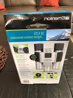 EMERSON Digital Camera Binoculars 10X25 Take Close Up Pictur