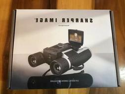 Sharper Image Digital Camera Binoculars 12x Zoom 1080p, SD C