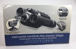 Protocol Digital Camera with 8 x 25 mm  Binoculars New - Pri