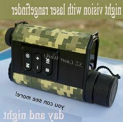 Digital Monocular Infrared Day Night Vision Goggles with Ran