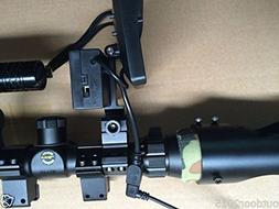 Srate DIY Night Vision Scope Rifle Scope Add On Device w Inf
