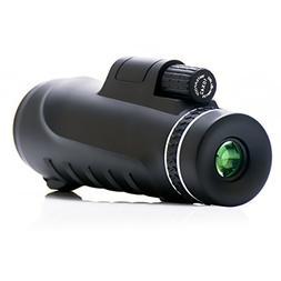 VERKB 10x42 Dual Focus Monocular Telescope Prism Film Optics