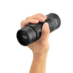 16x52 HD Dual High Powered Focus Optics Zoom Monocular Teles