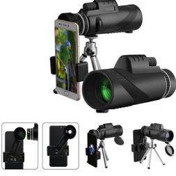 Durable High-power BAK4 Telescope With Fast Smartphone Stand