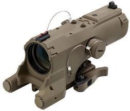 Vism Eco Mod3 4X Magnification 34mm Scope, Black