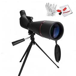 Eyeskey EK8388 20-60x80mm Prism Spotting Scope -Waterproof M