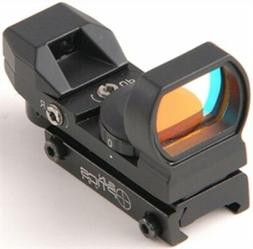 Sun Optics USA Electronic 23 x 33 mm Reflex Sight Red/Green