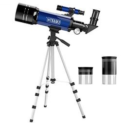 Emarth Telescope, Travel Scope, 70mm Astronomical Refracter