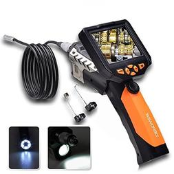 DBPOWER Endoscope Inspection Camera with 3.5 Inch LCD Monito
