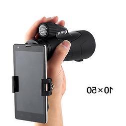 Eyeskey 10x50 Waterproof Spotting Scope Telescope Bak-4 with
