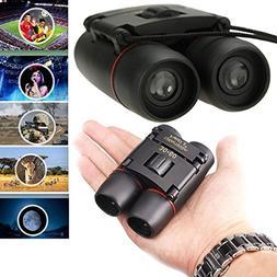F.Dorla 30x60 Compact Mini Portable Foldable Binoculars Tele